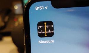 Приложение «Рулетка» (линейка) в iOS 12: что это, где найти и как использовать