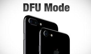 DFU режим на устройстве iPhone
