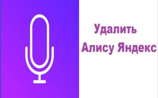 Удаляем Яндекс Алису с телефона Android