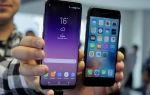 Сравнение смартфонов iPhone 7 и Samsung Galaxy S8