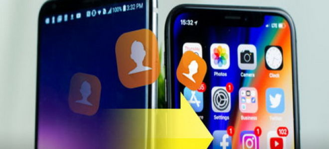 4 простых способа перенести контакты с Android на iPhone