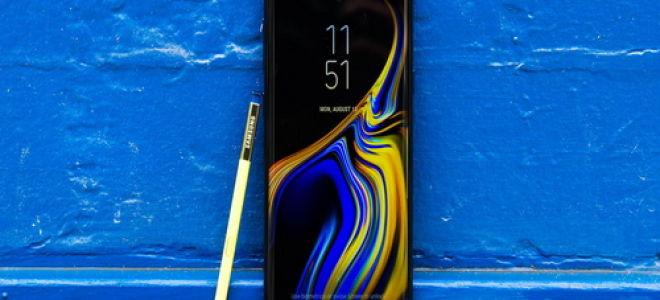 Обзор смартфона Samsung Galaxy Note 9