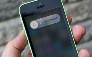 Как можно выключить телефон iPhone, когда не работает экран