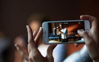 Включение и отключение звука затвора камеры на iPhone