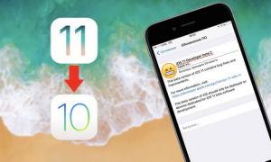 Как сделать откат с версии iOS 11 на более раннюю версию ОС 10