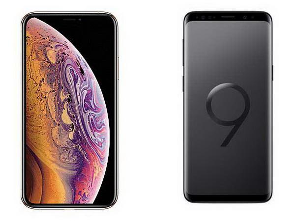 Дизайн Айфона XS и Галакси S9