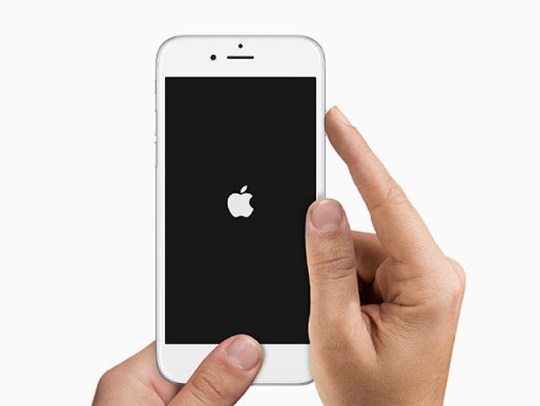 iPhone выключение смартфона