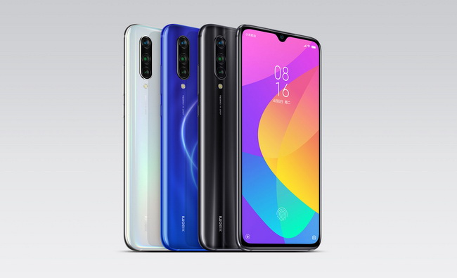 Цветовые варианты Xiaomi Mi A3