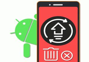 Удаление обновления программы Андроид