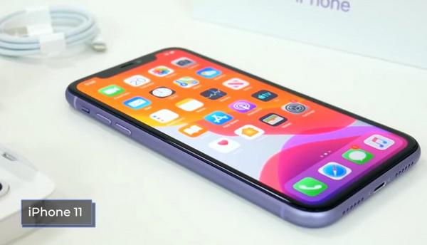Внешний вид Айфон 11